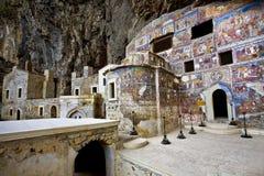 Grekiska ortodoxa Sumela Monastery Arkivbild