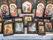 Grekiska ortodoxa symboler Royaltyfri Foto