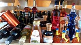 Grekiska produkter Arkivfoto