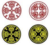 grekiska prydnadar royaltyfri illustrationer