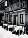 Grekiska Taverna Royaltyfri Fotografi