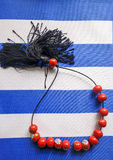 grekiskt bekymmer för pärlor Royaltyfri Fotografi