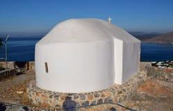 Grekiskt kapell arkivbilder