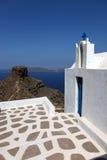 Grekiskt kapell, Santorini Royaltyfri Foto