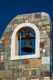 Grekiskt modernt klockatorn Royaltyfria Foton