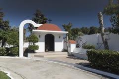 Grekiskt ortodoxt kapell Ialysos Rhodes Royaltyfri Bild