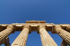 grekiskt tempel Arkivfoto