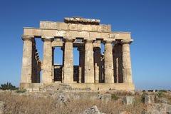 grekiskt tempel Arkivbilder