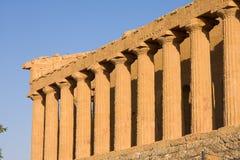 grekiskt tempel Arkivfoton