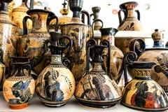 Grekiskt traditionellt keramiskt Arkivfoton