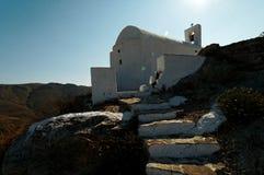 Grekkyrka Arkivfoton