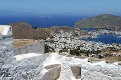 Grekland - ö Patmos arkivfoto