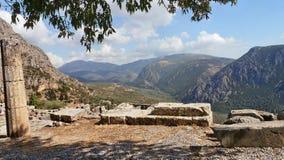 Grekland delphi Royaltyfria Bilder