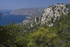 Grekland den gamla staden Arkivbild