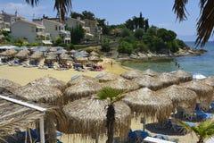 Grekland Eastmacedonia, Kavala Arkivbild