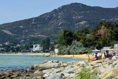 Grekland Eastmacedonia, Kavala Royaltyfri Bild