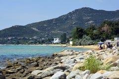 Grekland Eastmacedonia, Kavala Arkivbilder