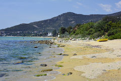 Grekland Eastmacedonia, Kavala Royaltyfria Foton