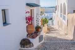 Grekland gatasikt Arkivbilder