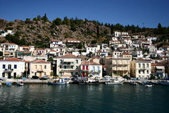 Grekland Hydrastad Arkivbild