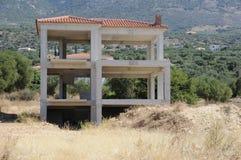 Grekland Kefalonia konstruktion Royaltyfri Bild
