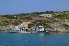 Grekland Levitha ö Arkivfoton