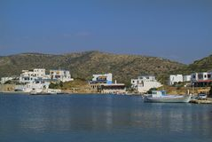 Grekland Lipsi ö Arkivfoto
