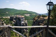 Grekland Meteora Royaltyfria Foton