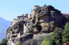 Grekland Meteora, kloster Royaltyfria Foton