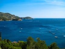 Grekland och hennes hav Royaltyfria Bilder