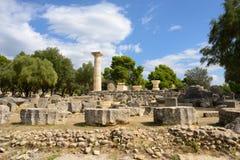 Grekland Olympia ursprung av olympiska spel Royaltyfri Foto