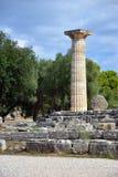 Grekland Olympia ursprung av olympiska spel Royaltyfri Fotografi
