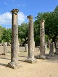 Grekland Olympia ursprung av olympiska spel Fotografering för Bildbyråer