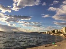 Grekland på vintern Royaltyfri Bild