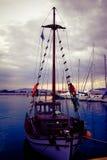 Grekland port Arkivfoton