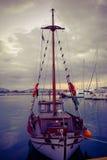 Grekland port Arkivbilder