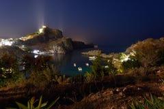 Grekland Rhodes ö Fotografering för Bildbyråer