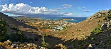 Grekland Rhodes Island, Kolymbia Royaltyfri Fotografi