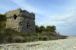 Grekland Samothrace ö Arkivbilder