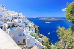Grekland Santorini Arkivfoton