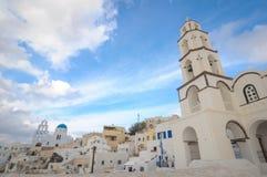 Grekland Santorini Arkivfoto