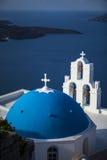 Grekland - Santorini (den Oia byn) Royaltyfri Fotografi
