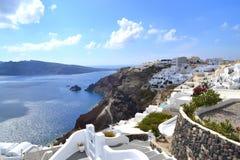 Grekland Santorini, Oia royaltyfria bilder