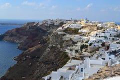 Grekland Santorini, Oia Arkivfoton