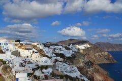 Grekland Santorini, Oia Royaltyfri Fotografi