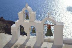 Grekland Santorini, Oia Arkivfoto