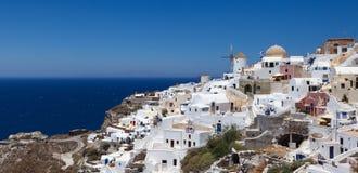 Grekland Santorini sikter Arkivfoto