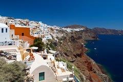 Grekland Santorini sikter Royaltyfria Foton