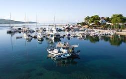 Grekland - Sarti Royaltyfria Foton