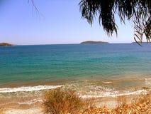 Grekland semestrar på ön av Skiathos Royaltyfria Bilder